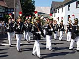 10. Deutscher Bergmannstag in Heringen - Grosse Bergparade am 05.09.2004