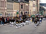 Bergparade am 11.12.2006 in Marienberg