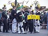 Bergparade in Thum am 03.12.2006